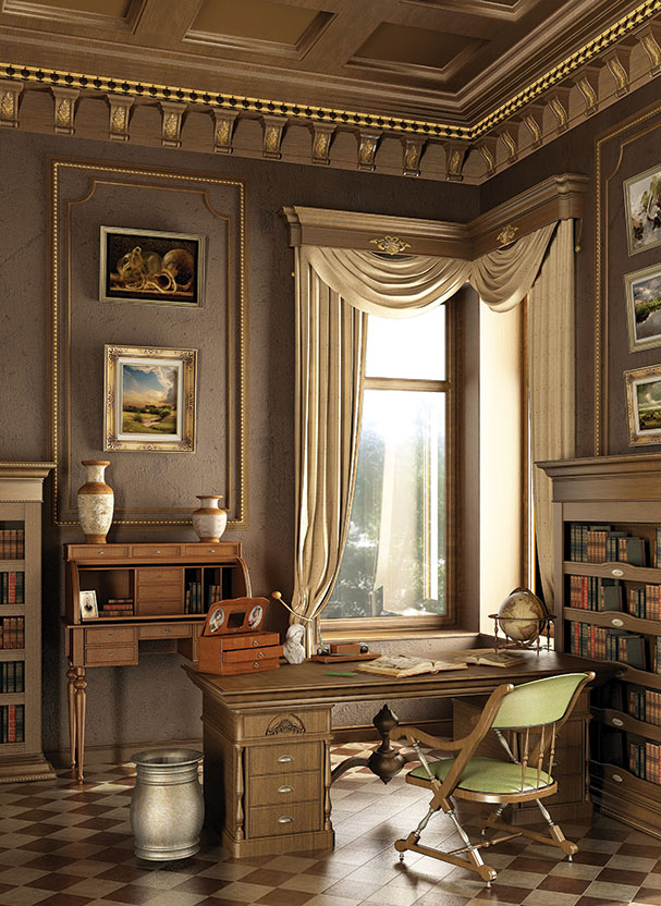 Crown Molding and Wood Paneling  Furniture Medic of Mississauga